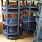 供应用于铜管热管烧结的美塔风推板式石墨治具高纯石墨