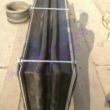 供应矩形橡胶补偿器非金属橡胶风道烟道膨胀节价格最低批发