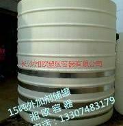 湖南20个立方立式PE储水罐图片