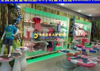 个性童装店装修设计展柜小童装店装修图图片大全