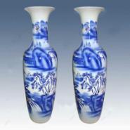 青花瓷大花瓶陶瓷花瓶定制厂家图片