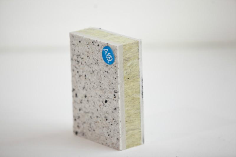 供应圣达仿石岩棉保温装饰复合一体板图片