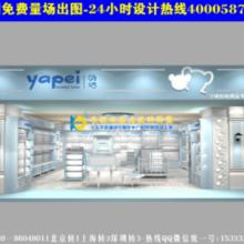 供应深圳母婴店装修图展示柜母婴童店收银台展柜