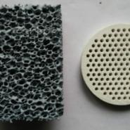 10ppi碳化硅陶瓷过滤网出口图片