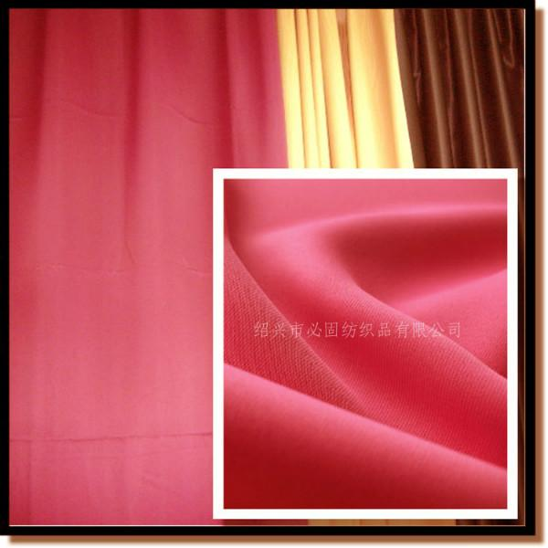 供应用于窗帘制作的国标B1级永久阻燃遮光布