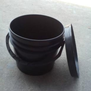 直销5公斤美式涂料桶,塑料圆桶图片