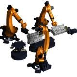 供应誉洋去毛刺机器人,打磨机器人,铸件自动清整设备