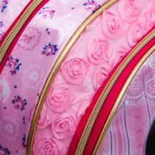 供应厦门幼儿园书包订做粉色芭比双肩包批发