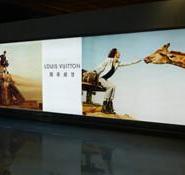 银川机场行李大厅灯箱广告媒体图片