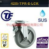 供应TF重型欧款不锈钢TPR静音刹车脚轮-广东重型不锈钢脚轮图片-静音脚轮/不锈钢静音刹车脚轮电话