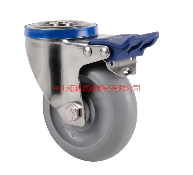 供应TF欧式美式日式304不锈钢静音脚轮-中国不锈钢脚轮生产基地-脚轮价格