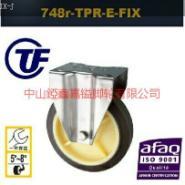 TF5寸6寸8寸不锈钢人造胶定向脚轮图片