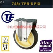供应TF5寸6寸8寸不锈钢人造胶定向脚轮-中山亚鑫嘉镒脚轮生产不锈钢脚轮