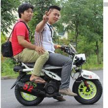 批发125cc新款祖玛摩托车迷你街车踏板摩托车X战警豪华跑车燃油助力车批发