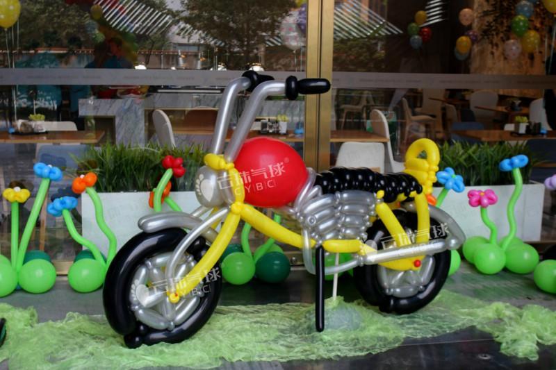供应气球哈雷/气球飞机/气球宝宝宴装饰/气球路虎