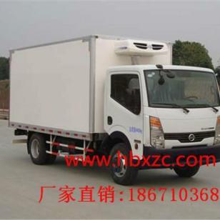 日产凯普斯达4米1.5吨蓝牌冷藏车图片