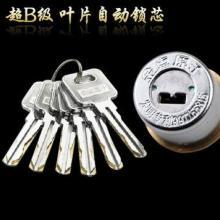 供应金点原子防锡纸自动锁锁芯,自动门锁芯报价,叶片自动锁锁芯批发