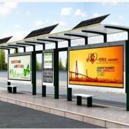 城市公交候车亭灯箱-太阳能灯箱图片