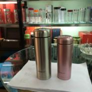 双层玻璃杯保温杯促销礼品杯图片