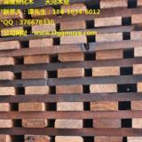 供应江西深度碳化木优惠价 南昌大型碳化木加工厂家 碳化木古建 凉亭 花架