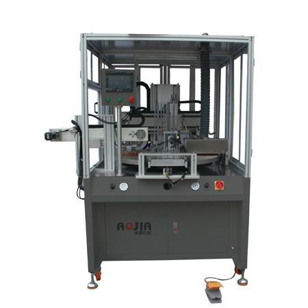 供应三角板丝印机价格直尺丝印机
