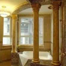 供应仿大理石欧式罗马柱酒店装饰
