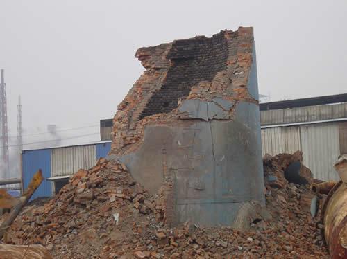 供应45米.60米烟囱拆除,扬州烟囱拆除单位,烟囱电镐逐块拆除施工最安全