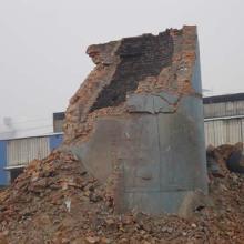 供应45米.60米烟囱拆除,扬州烟囱拆除单位,烟囱电镐逐块拆除施工最安全批发