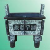 供应西安铜车马桌摆原大青铜鼎价格