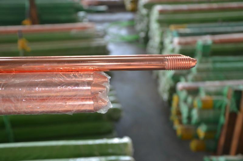 供应铜包钢接地棒,铜包钢接地棒厂家