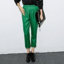 供应韩国时尚梭织料九分女式小脚裤韩国时尚梭织料九分女式小脚裤