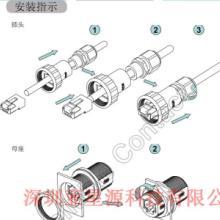 供应RJ45信号防水插头信号灯专用防水头、RJ45交通信号灯专用防水插头