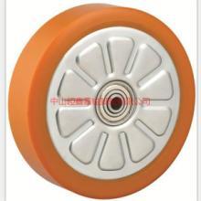 供应重型钢芯PU单轮-钢芯聚氨脂单轮-钢芯脚轮-超重型钢心PU轮批发