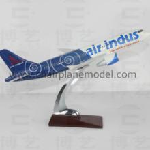 供应A320印度树脂航空模型32CM