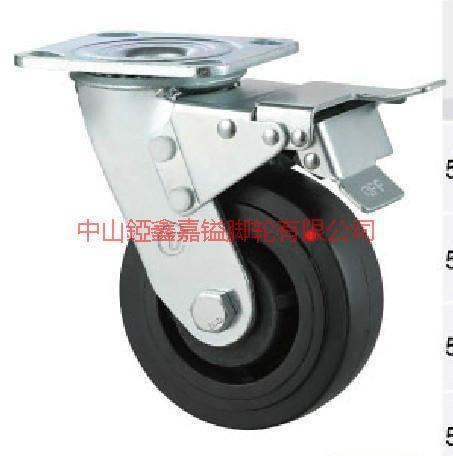 TF重型耐高温酚醛刹车脚轮图片/TF重型耐高温酚醛刹车脚轮样板图 (1)