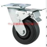 供应TF重型耐高温酚醛刹车脚轮-广东260度高温轮-双轴承耐高温脚轮图片