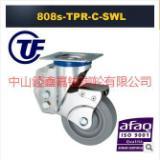 供应TF中型TPR导电防静电减震定向脚轮-减震轮刹车价格-减震轮厂价批发
