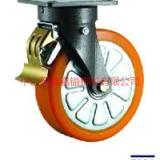 供应TF重型防撞轮铝心PU后刹车脚轮-防撞轮价格-防撞轮批发商