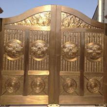 供应围墙铜门哪里有卖,首选双熙铜门窗有限公司图片