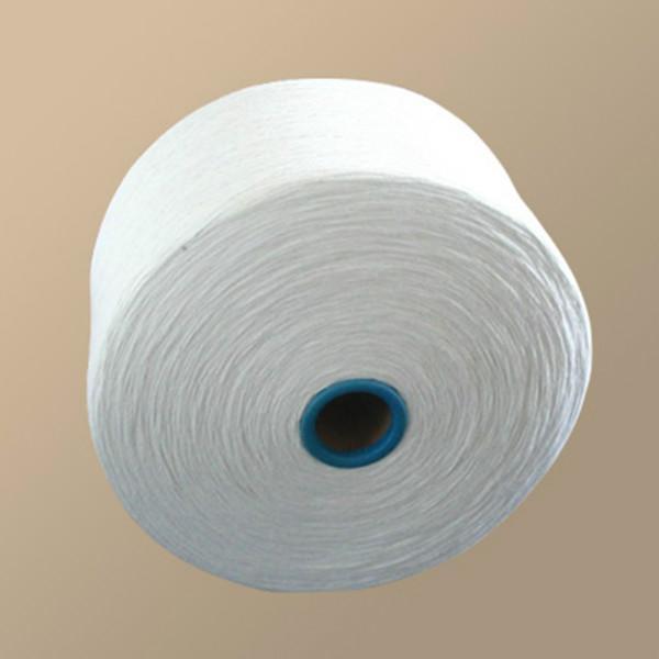 潍坊冠杰纺织供应用于针织,机织的环锭纺普梳合股纯棉纱16支