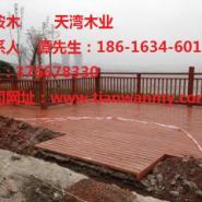 天津柳桉木防腐木价格图片