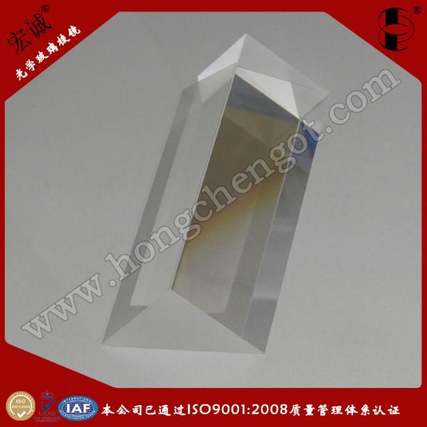 供应东莞光学直角三棱镜30mm×30mm×100m