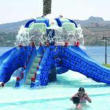供应广州吉潮水上乐园设备儿童戏水设备章鱼滑梯 水上乐园设备厂家