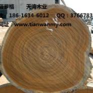 广西非洲菠萝格木柱子批发图片