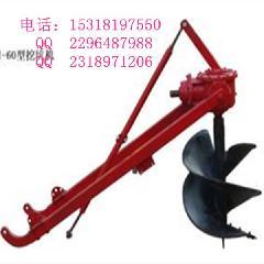 优质拖拉机挂式挖坑机图片