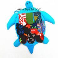 民族特色拼花小乌龟零钱包图片
