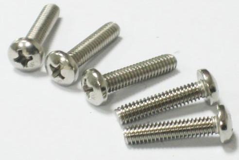 供应304不锈钢螺丝十字圆头螺栓盘头