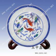 供应陶瓷纪念盘人物肖像盘办公摆饰陶瓷