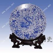 景德镇陶瓷彩盘青花瓷纪念盘厂家图片