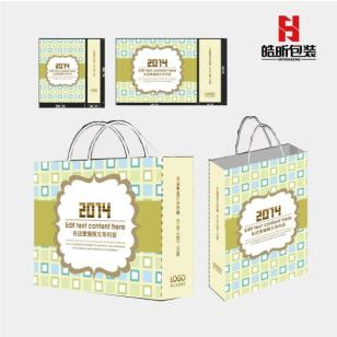 上海黄牛皮纸手提袋图片
